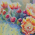 Cactus Flowers by Victoria Wills