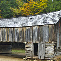 Cades Cove Barn by Michael Peychich