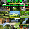 Cades Cove Collage by David Lee Thompson