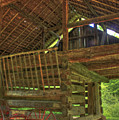 Cades Cove Counter-lever Barn by Reid Callaway