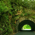 Cades Cove Tunnel by Barbara Rabek