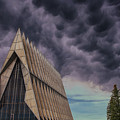 Cadet Chapel At The United States Air Force Academy by Luis A Ramirez