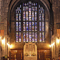 Cadet Chapel With Stained Glass Windows by Richard Nowitz