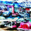 Cadillac Corner Redux by Leigh Kemp