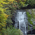 Cadillac Falls Great Smoky Mountains National Park by Bruce Gourley