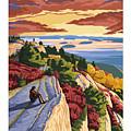 Cadillac Mountain by Nostalgic Prints