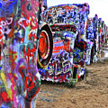 Cadillac Ranch by Angela Wright