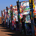 Cadillac Ranch Route 66 by Susanne Van Hulst