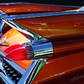 Cadillac Tail Fin View by Patricia L Davidson
