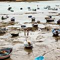 Cadiz Spain Low Tide by Kenneth Lempert