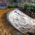 Caeau Weir by Adrian Evans