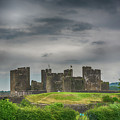 Caerphilly Castle East View 3 by Steve Purnell