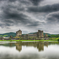 Caerphilly Castle North View 1 by Steve Purnell