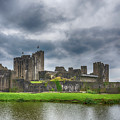 Caerphilly Castle North View 3 by Steve Purnell