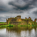 Caerphilly Castle South East View 1 by Steve Purnell