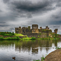Caerphilly Castle South East View 2 by Steve Purnell