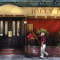 Cafe - Jolly Trolley by Mike Savad