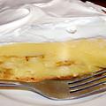 Cafe Art Series - Napoleon Cafe's Banana Creme Pie by Michelle  BarlondSmith
