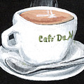 Cafe Au Lait by Elaine Hodges