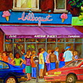 Cafe Bilboquet Ice Cream Delight by Carole Spandau