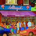 Cafe Bilboquet Ice Cream Delight by Carole Spandau