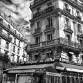 Cafe Corner - Le Bouquet Du Nord by Dave Byers