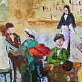 Cafe Des Batignolles Paris France by Frederic Payet