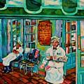 Cafe Du Monde Revisited  by Lisa Tygier Diamond