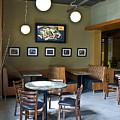 Cafe E Interior by Michael Rutland