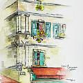 Cafe In Arles by Rocio Olguin