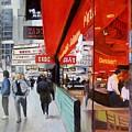 Cafe On Broadway by Vladimir Troitsky