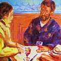 Cafe Renoir by Carole Spandau