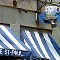 Cafe St. Paul - Montreal by Frank Romeo