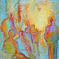 Cafe Three by LaDonna Kruger