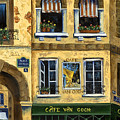 Cafe Van Gogh Paris by Marilyn Dunlap