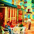 Cafe Vienne by Carole Spandau