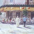 Cafe Zanzibar. Fez by Karim Baziou