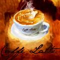 Caffe Latte by Lourry Legarde