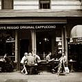Caffe Reggio Nyc by Jessica Jenney