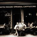 Caffe Reggio Scene by Jessica Jenney