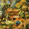 Cagnes Landscape 1 by Renoir PierreAuguste