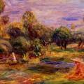 Cagnes Landscape 1908 by Renoir PierreAuguste