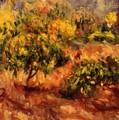 Cagnes Landscape 1919 by Renoir PierreAuguste