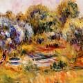 Cagnes Landscape 2 by Renoir PierreAuguste