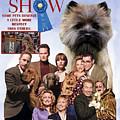 Cairn Terrier Art Canvas Print - Best In Show Movie Poster by Sandra Sij