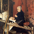 Calabrian Weaver by Leonardo Ruggieri