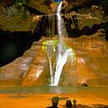 Calf Creek Falls Utah by David Lee Thompson
