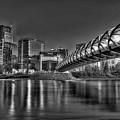 Calgary Peace Bridge by Colin MacDonald