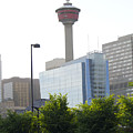 Calgary Tower View 2 by Donna Munro