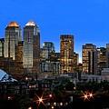Calgarys Skyline by Richard Wear